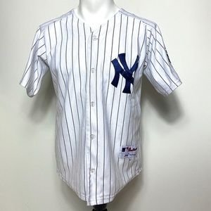 Majestic Jeter #2 New York Yankees Baseball Jersey